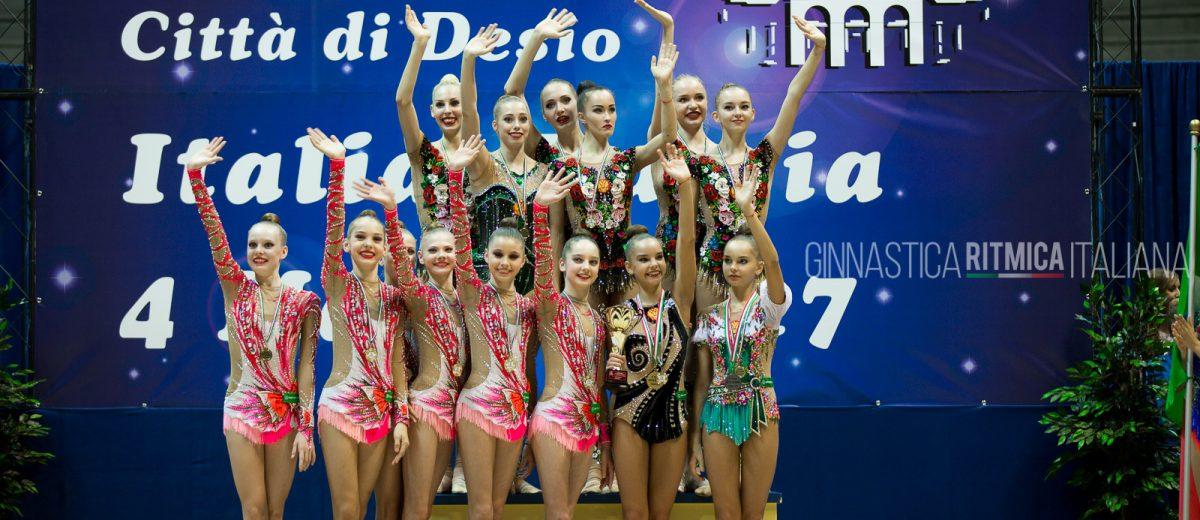 Il team delle ginnaste russe